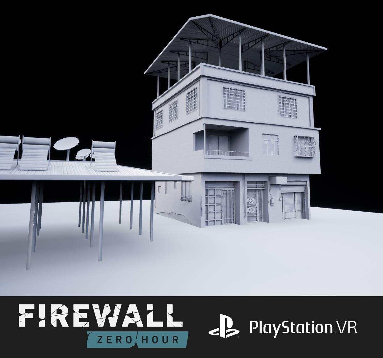 FireWall:Zero Hour PlayStation VR assets