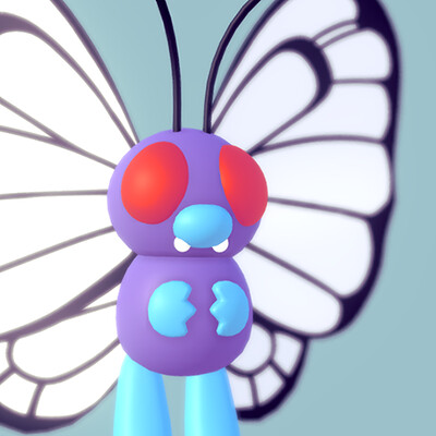 Butterfree (Pokemon Fan Art)