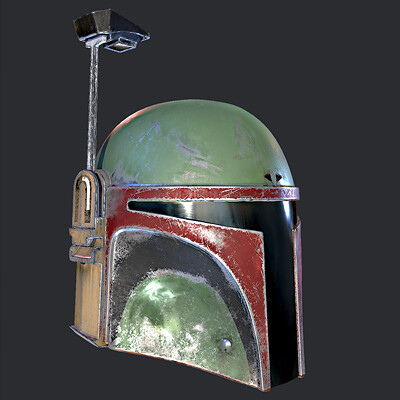 The Fett's Helmets