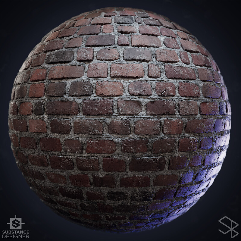 Brick - #Nodevember Substance Designer