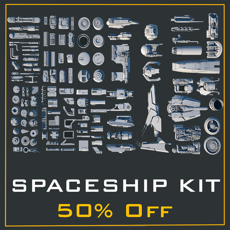 Spaceship Kit 50% Off