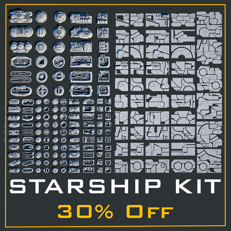 NEW Starship Kit