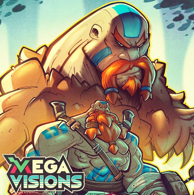 Mega Visions Interior Art - Wulverblade