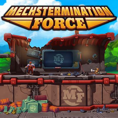 Felicia hellsten mechstermination force as logo