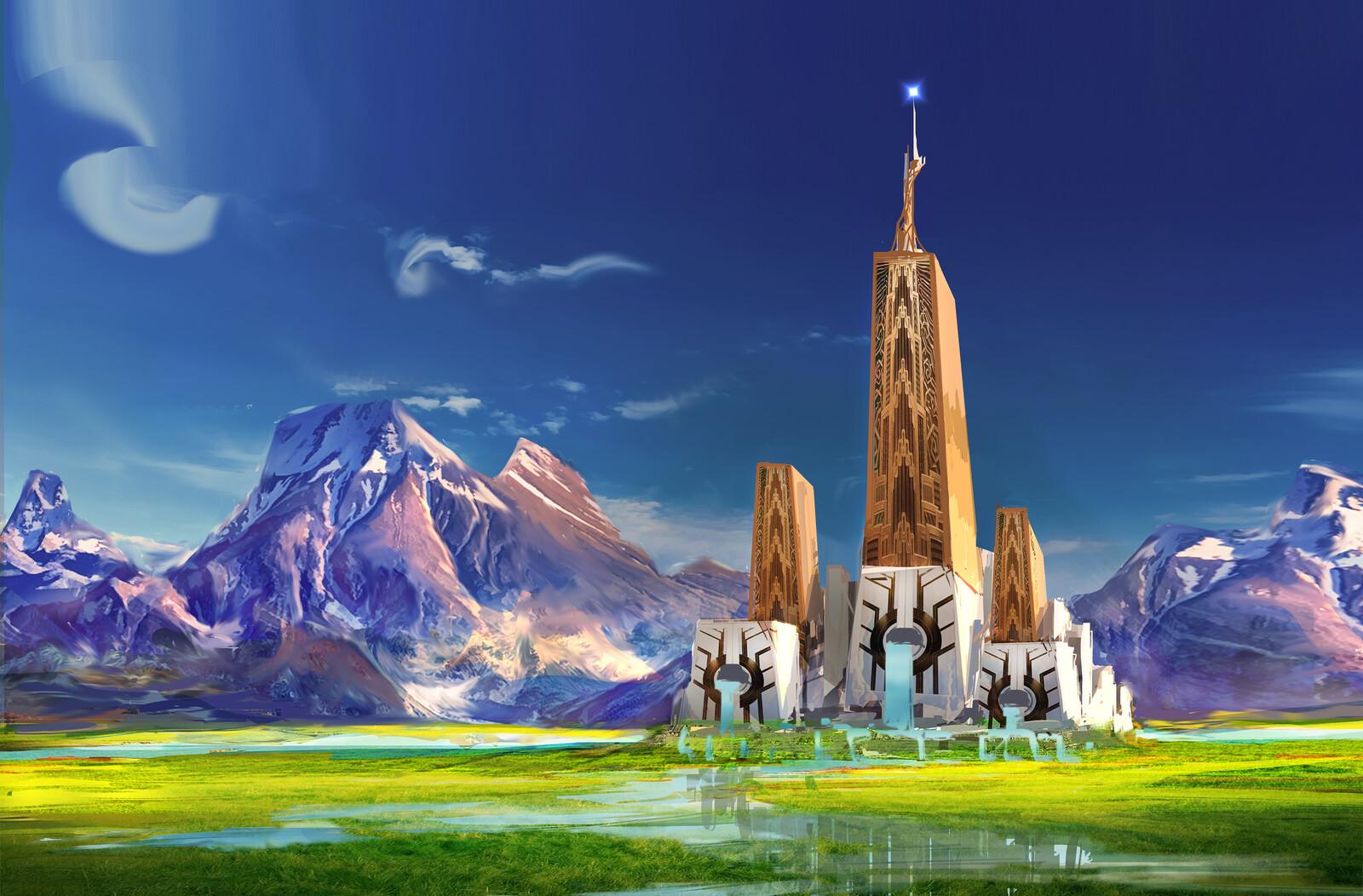 Pristine castle