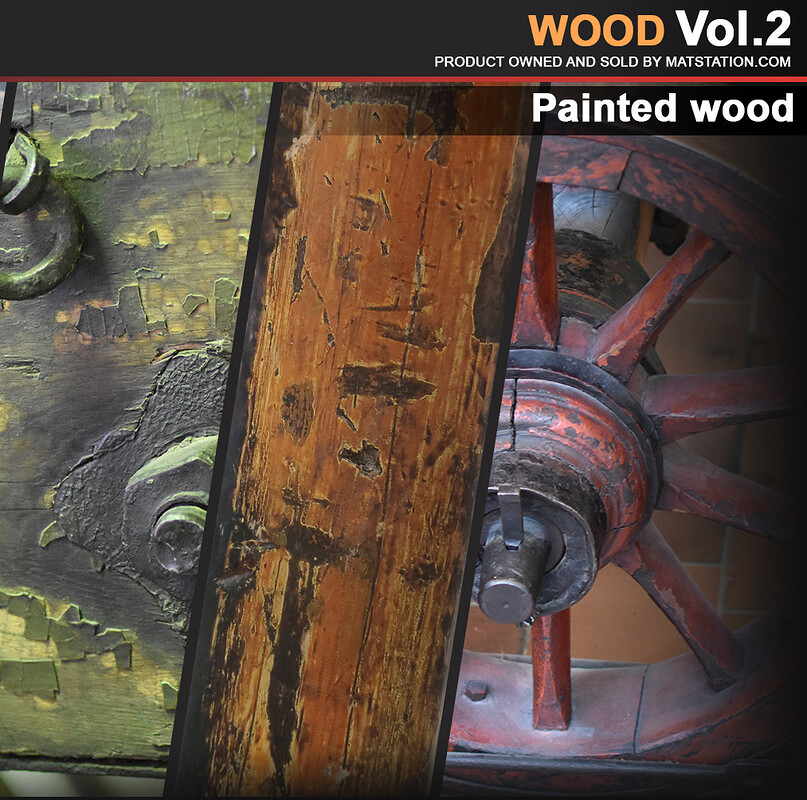 Photo Pack - Wood Reference - Vol.2