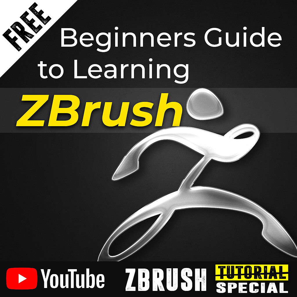 Beginners Guide to Learning ZBrush - Free
