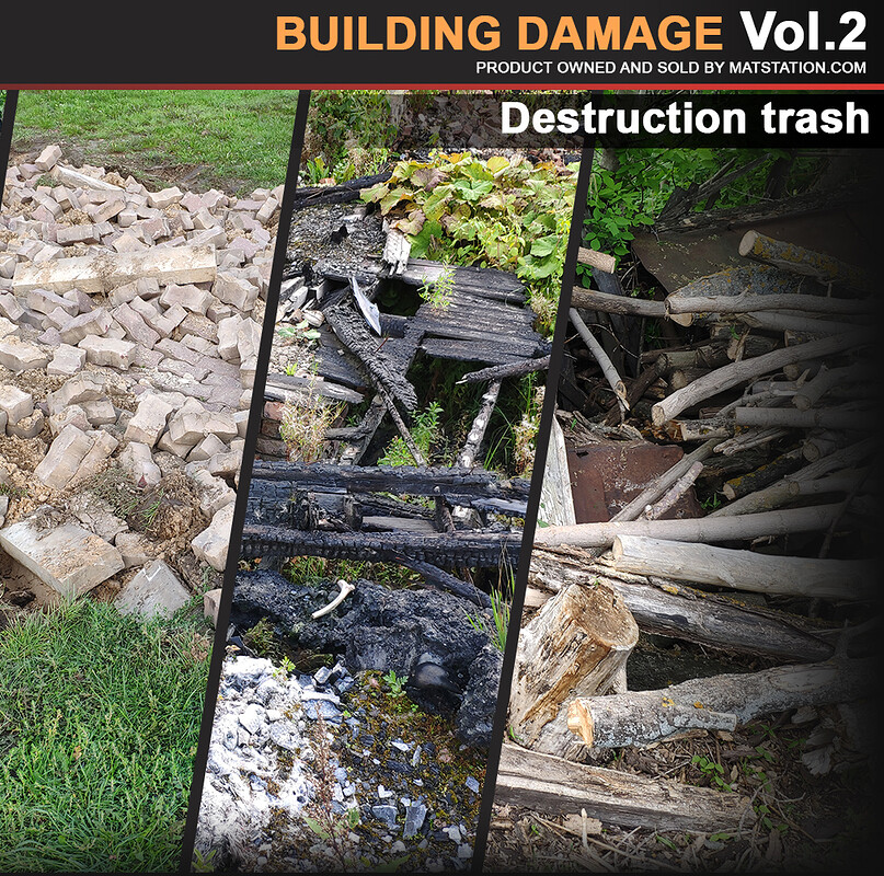 Photo Pack - Building Damage - Vol.2