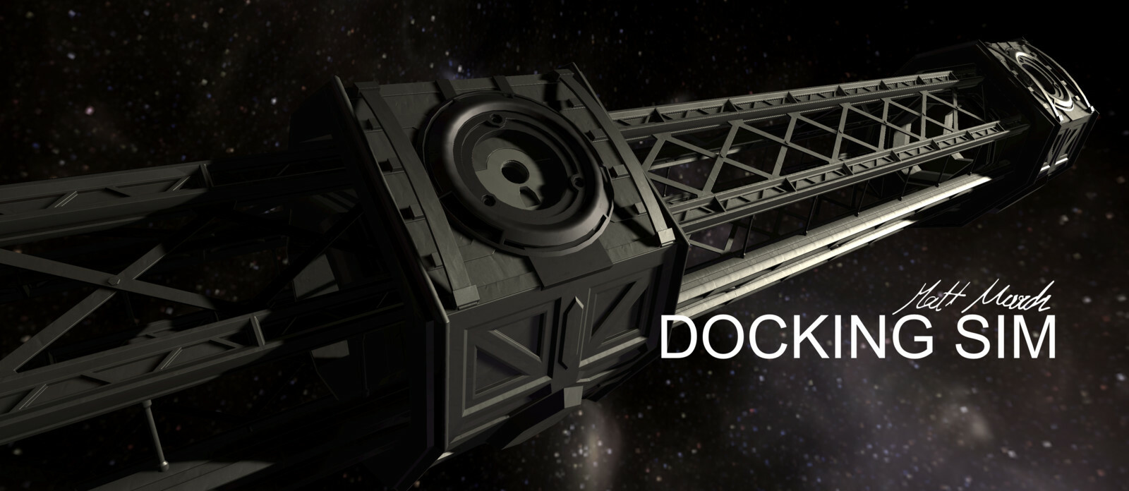 Docking Sim: High Realism Mundane Space Simulator