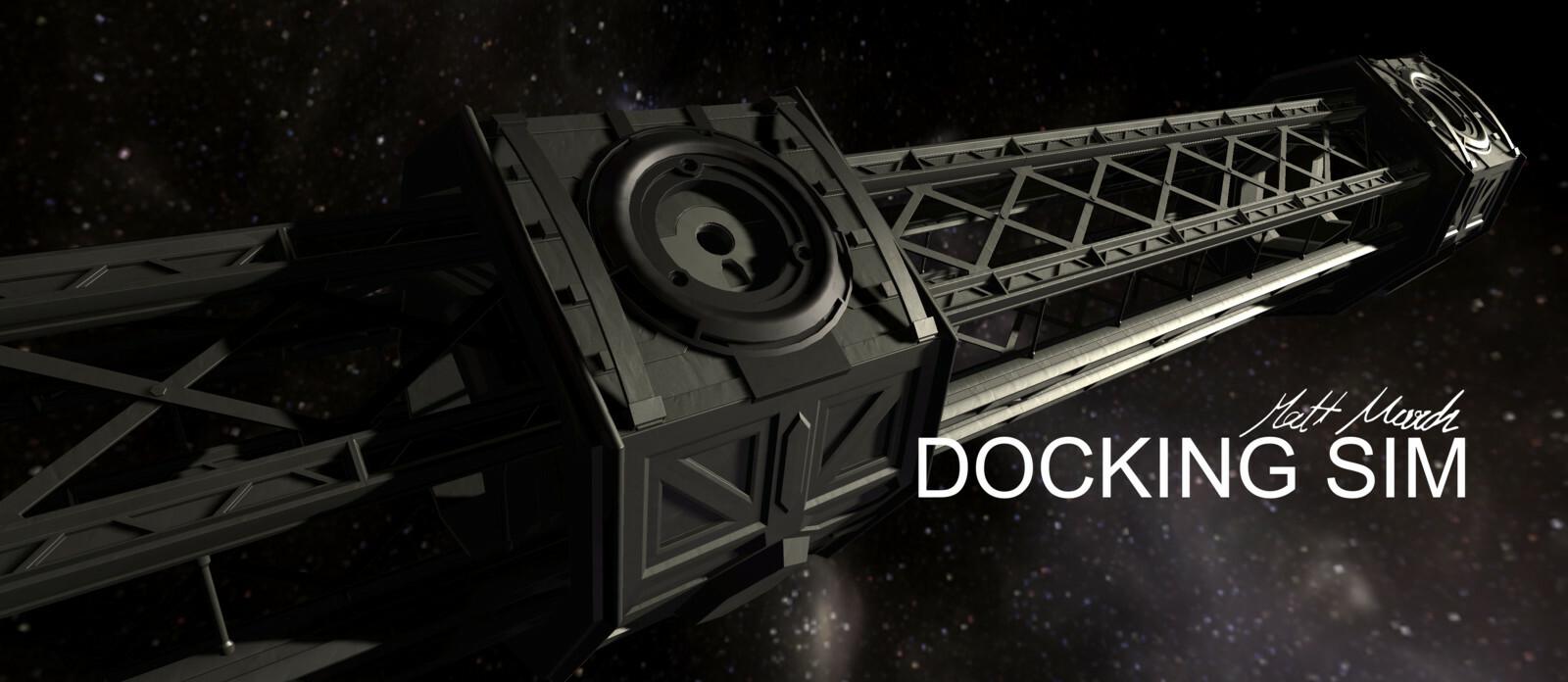 Docking Sim: High Realism Mundane Space Simulator
