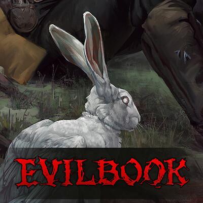 Valera lutfullina evilbook2 logo forartstation