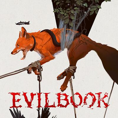 Alex negrea evilbook2 logo forartstation
