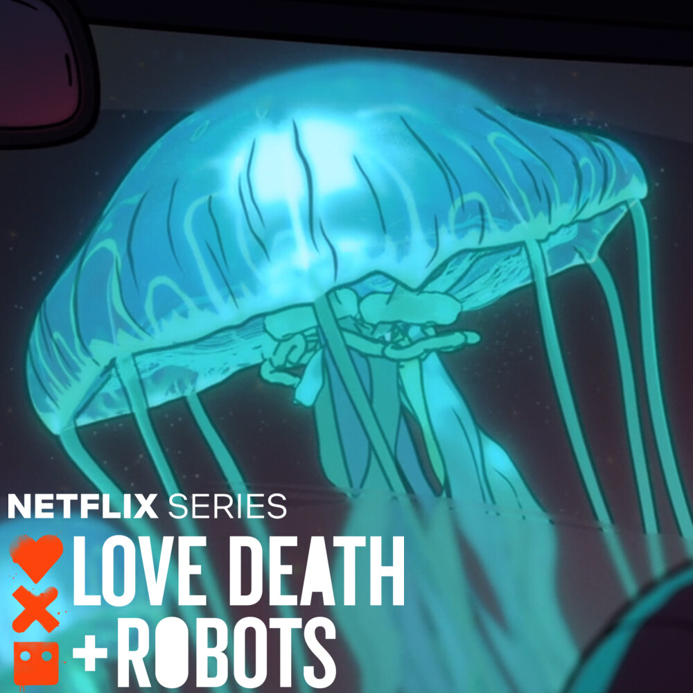 LOVE DEATH + ROBOTS - Fish Night - Jellyfish