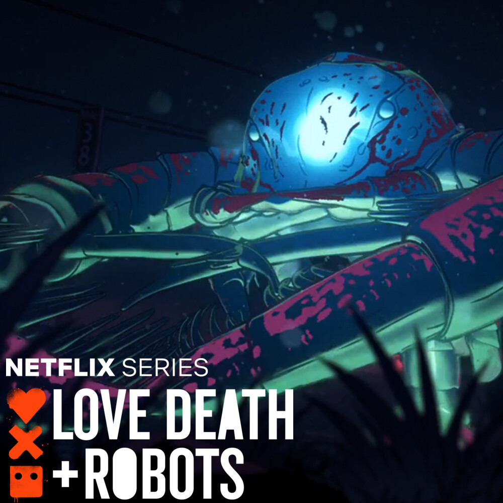 LOVE DEATH + ROBOTS - Fish Night - Crab and Ray Fish
