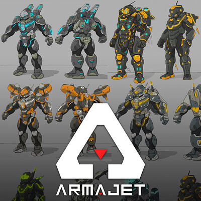 ARMAJET | POWERSUITS