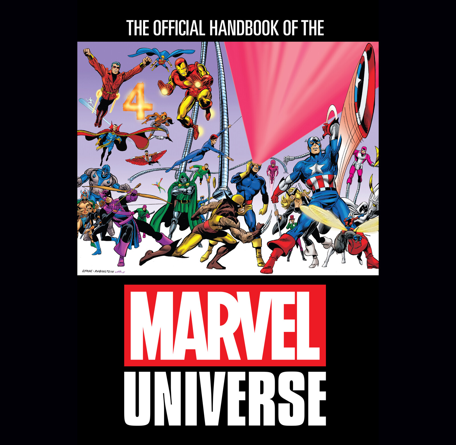 THE OFFICIAL HANDBOOK OF THE MARVEL UNIVERSE OMNIBUS Design
