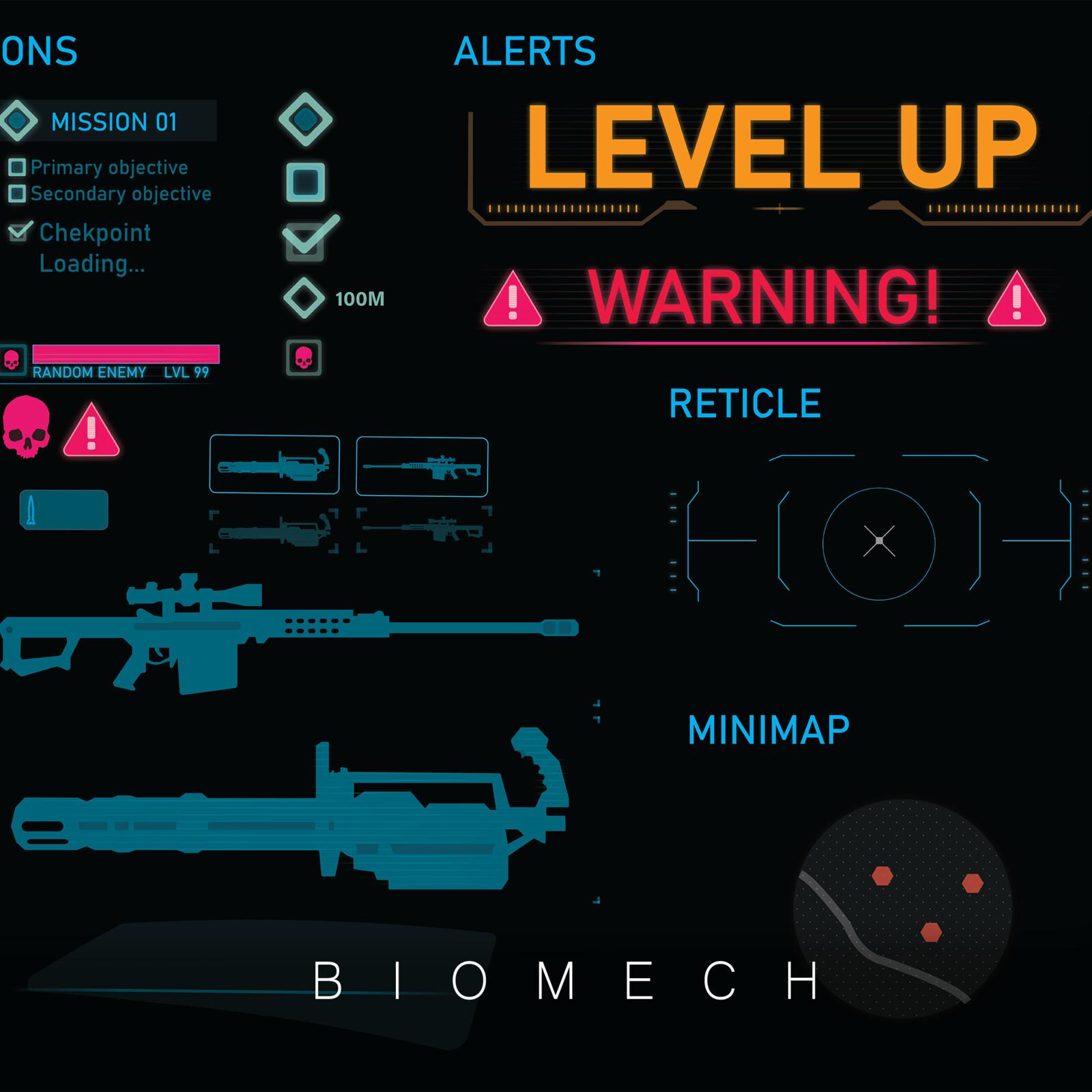 BioMech UI