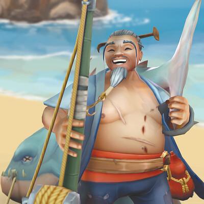 Yu, The Sloppy Fisherman