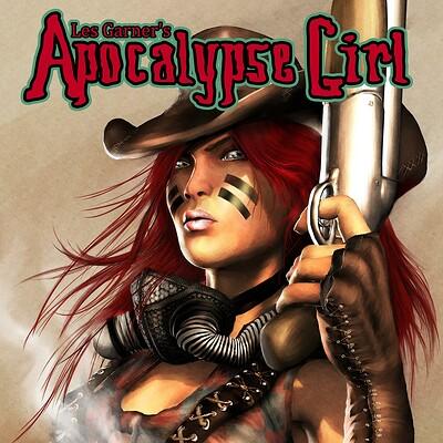 Les garner apocalypsegirl 1 cover