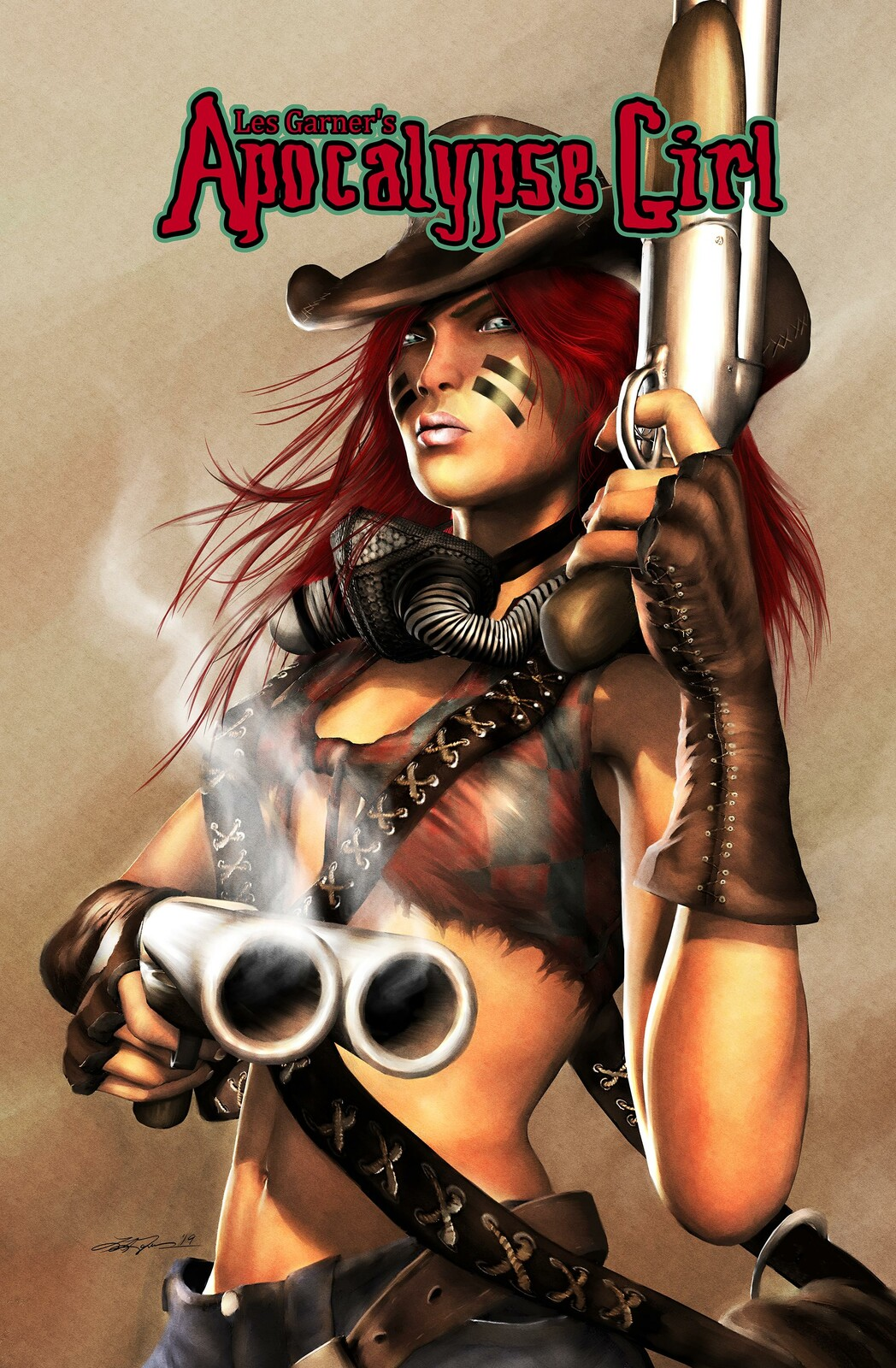 Les Garner's Apocalypse Girl Promos/Covers Roundup