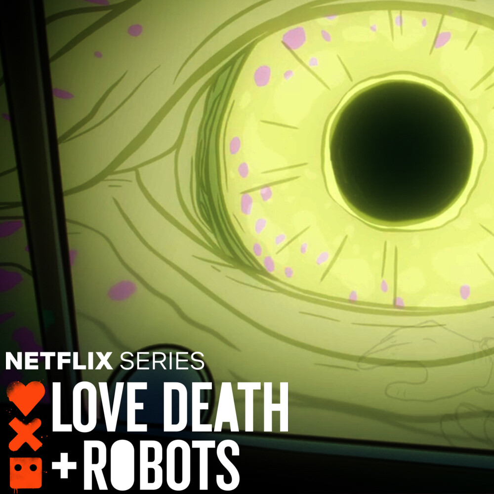 LOVE DEATH + ROBOTS - Fish Night - The Eye Concept Art