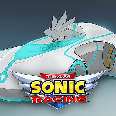 Team Sonic Racing Concept Art