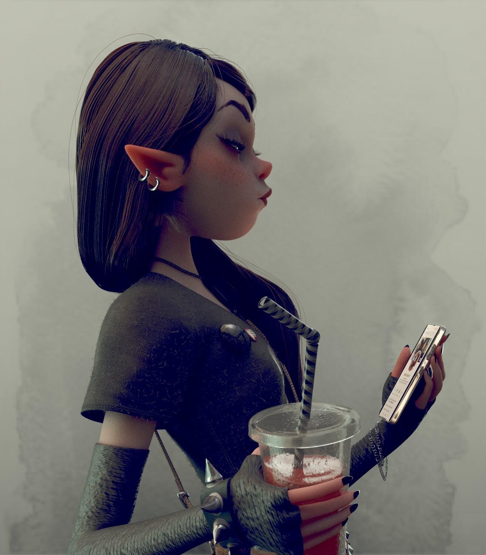 Goth-IT Girl