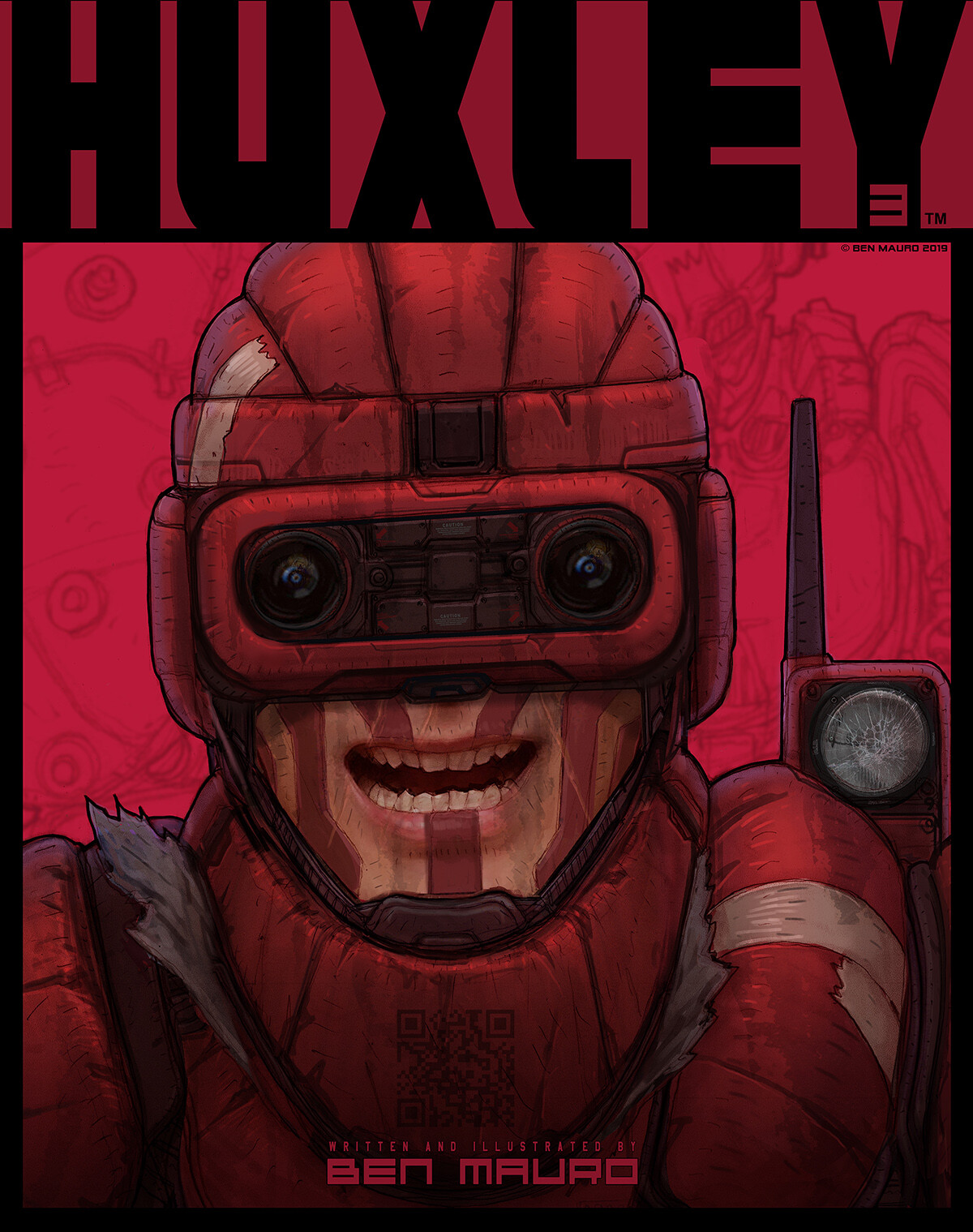 HUXLEY™ GRAPHIC NOVEL Part 3