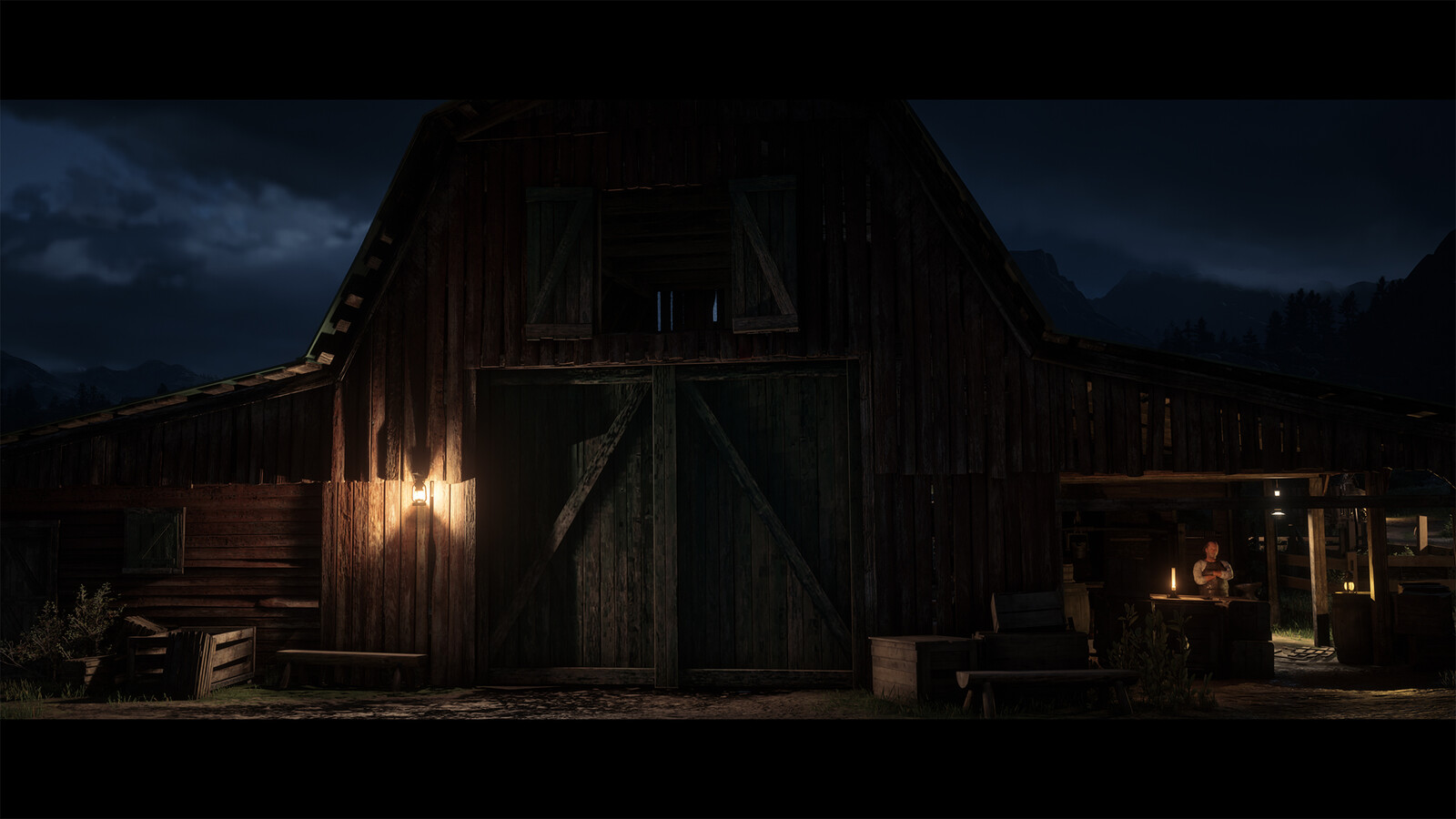 EMERALD RANCH LIGHTING - RED DEAD REDEMPTION 2