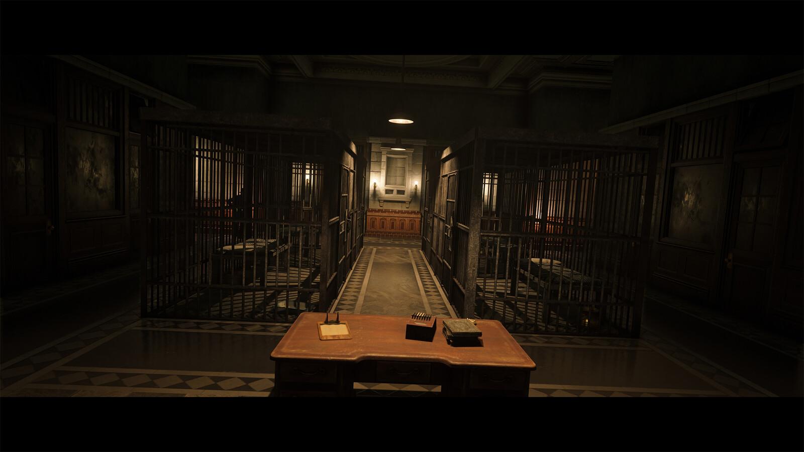 SAINT DENIS POLICE STATION LIGHTING - RED DEAD REDEMPTION 2