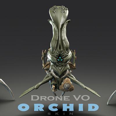 Igor puskaric artstation thumbnail orchid sculpt