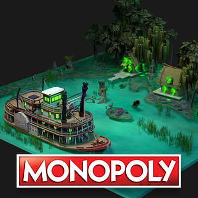 Monopoly: Swamp Graveyard