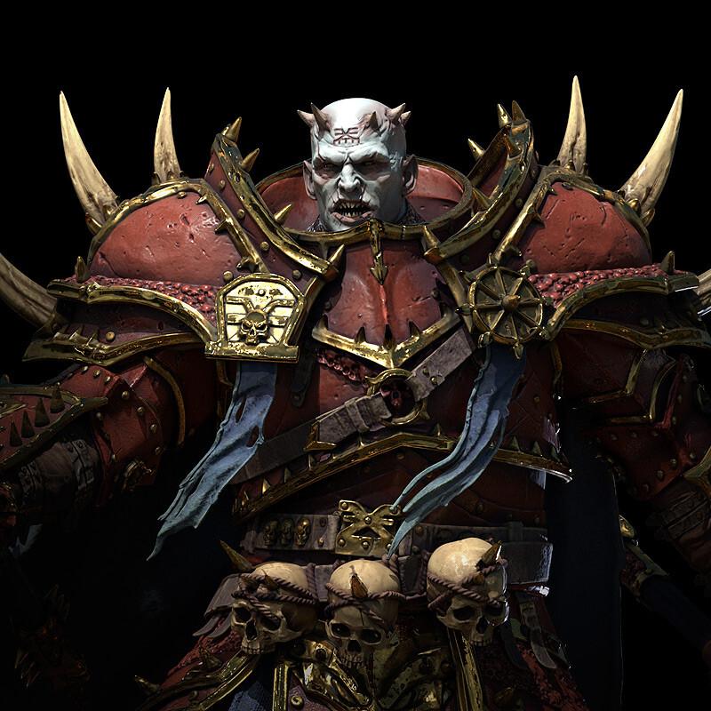 Khorne Champion of Chaos, Warhammer Fantasy