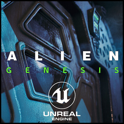 Alien Genesis - Unreal engine 4.21