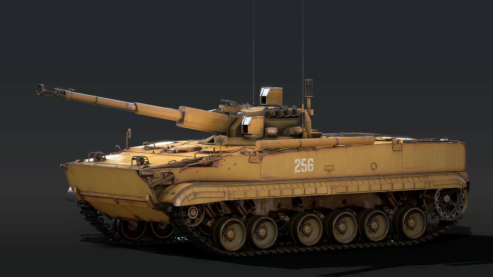 BMP-3 with internal blocking