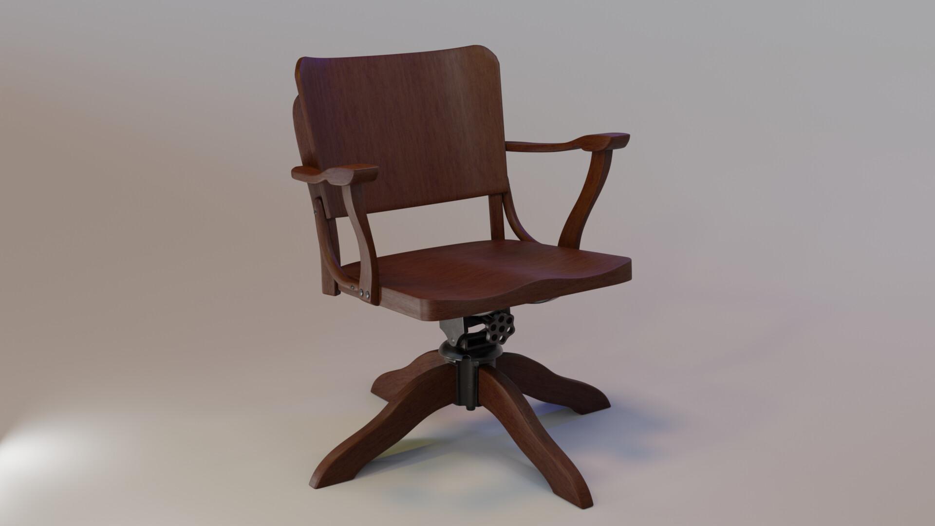 Artstation Art Deco Chair 1940 S Carol Silveira