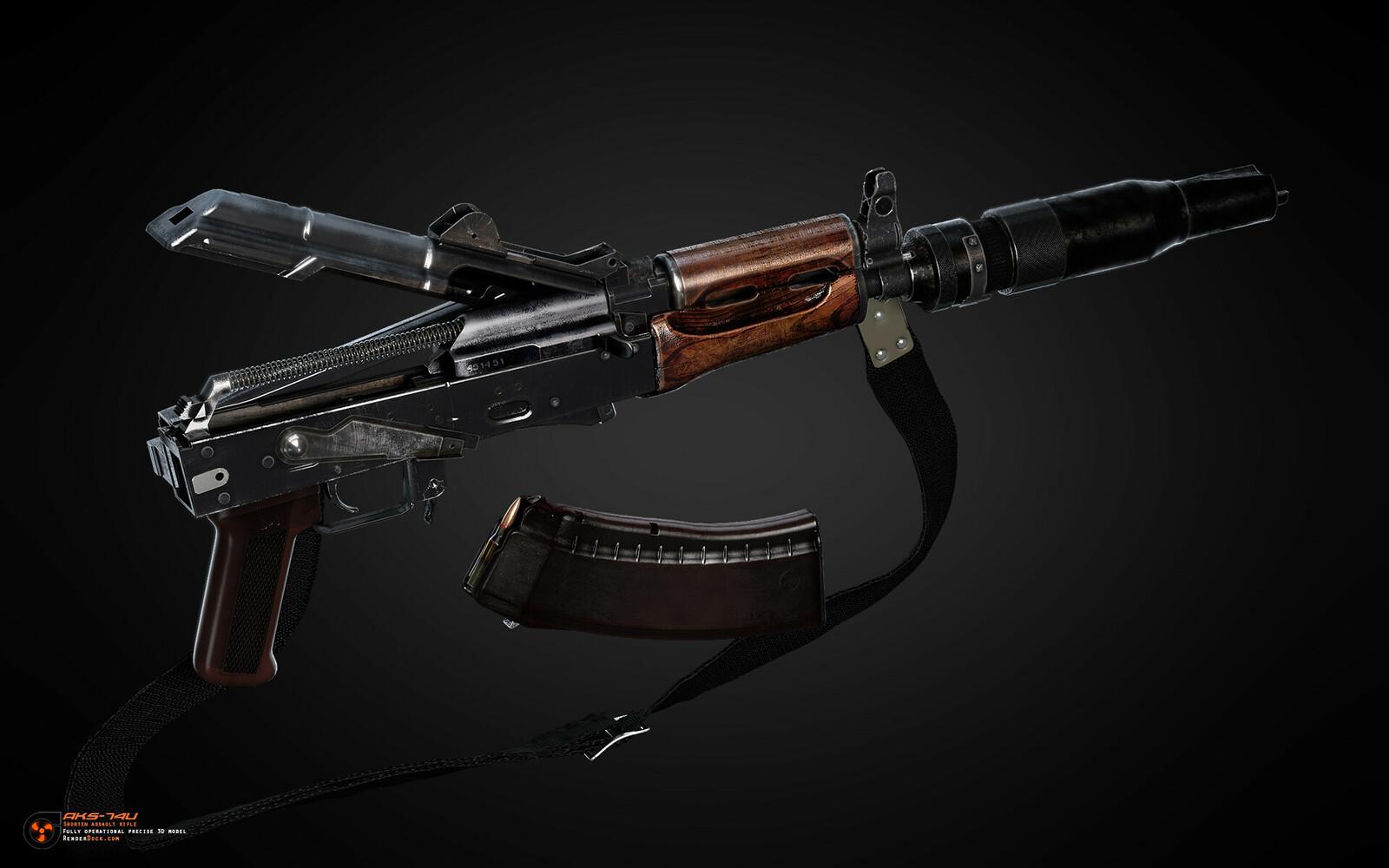 Kalashnikov's AKS-74U