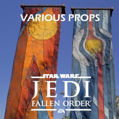 Star Wars Jedi: Fallen Order - Various Props