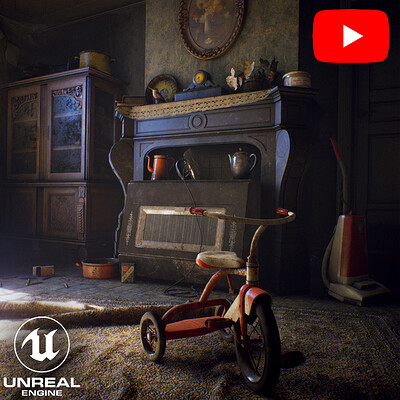 Abandoned Farmhouse - Video - Unreal engine 4.21