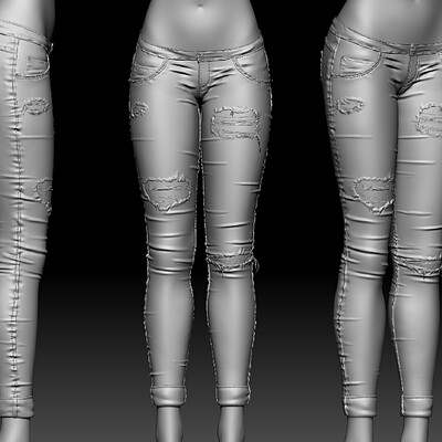 Mocap BCN - Cloth modeling