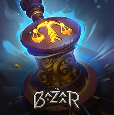 The Bazaar. Card artworks