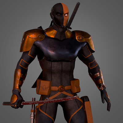 Deathstroke (Character Texturing)