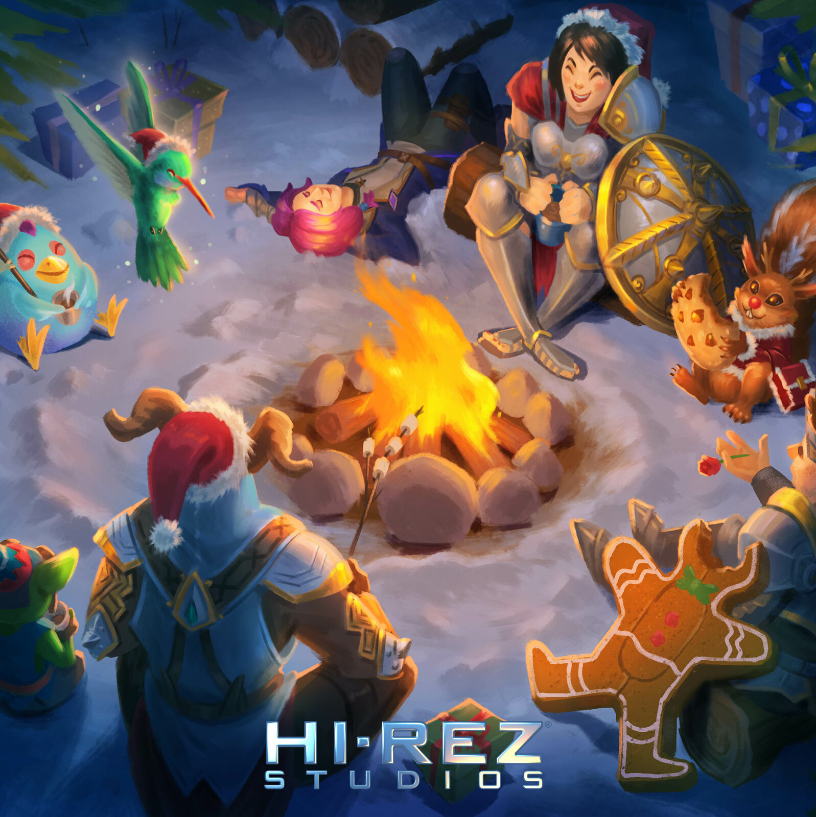Fire Camp_ Holiday Card 2018