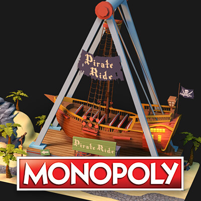Monopoly: Pirate Park