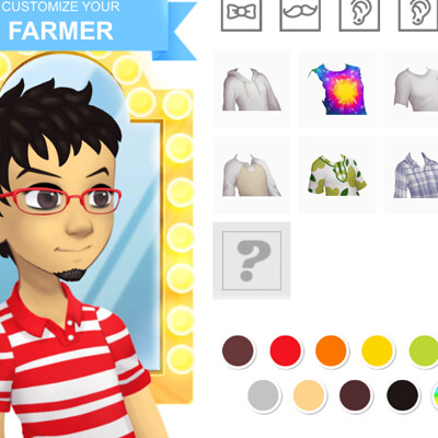 Farm Player Character Creator