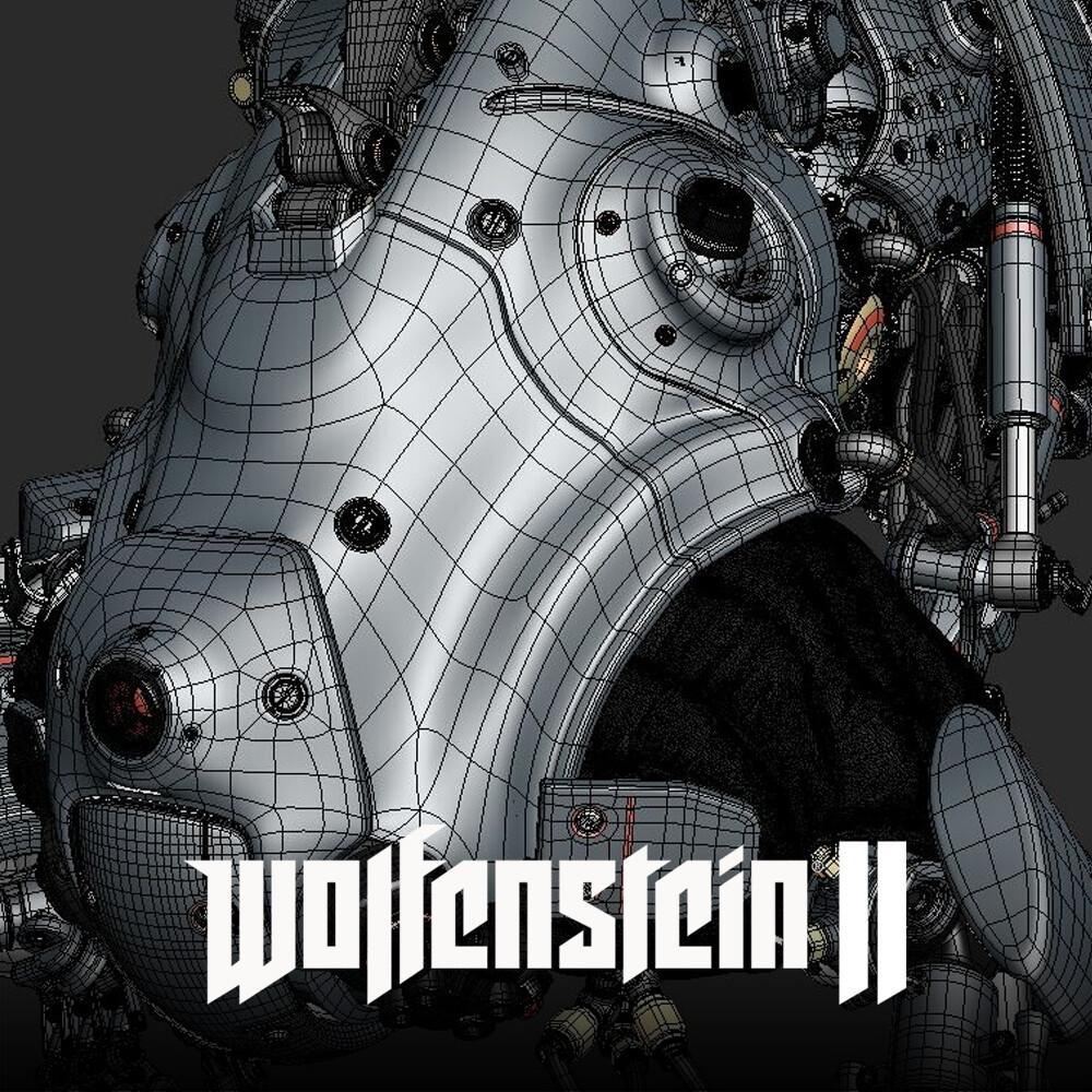 Wolfenstein: New Colossus -Laserhund - Wireframes