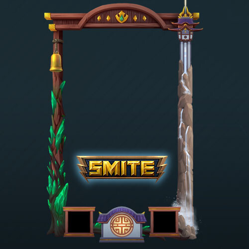 Mulan loading frame_ Smite game