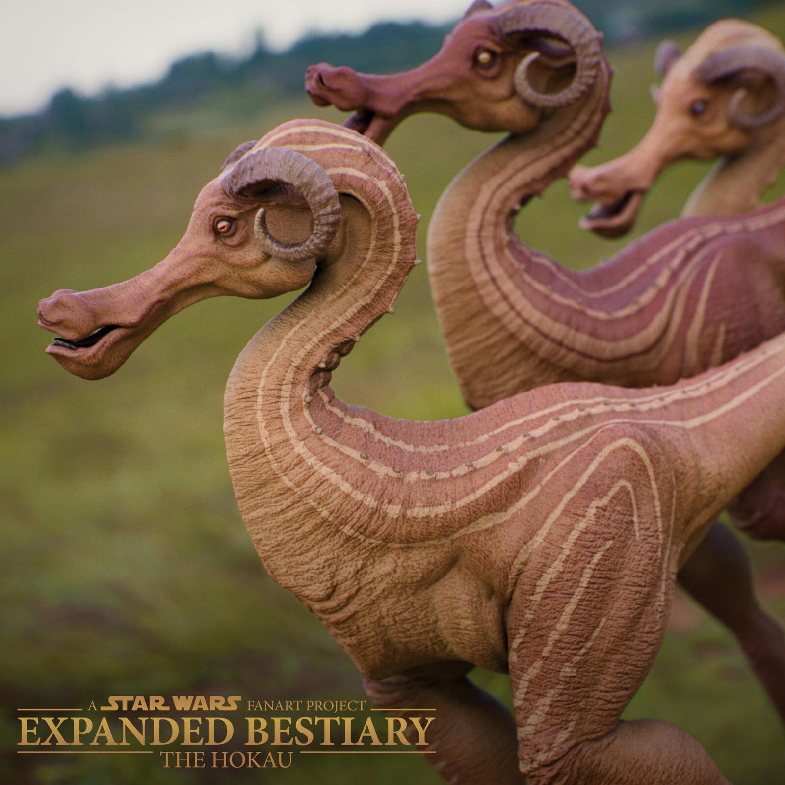 The Hokau - SW Expanded Bestiary