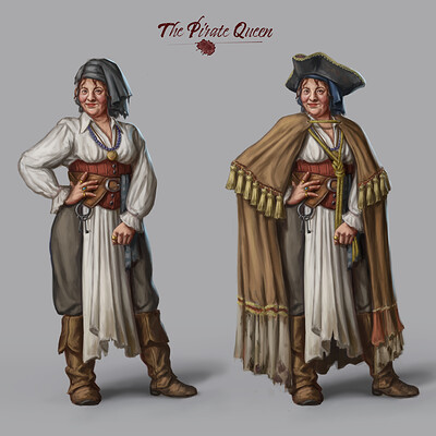 The Pirate Queen Design
