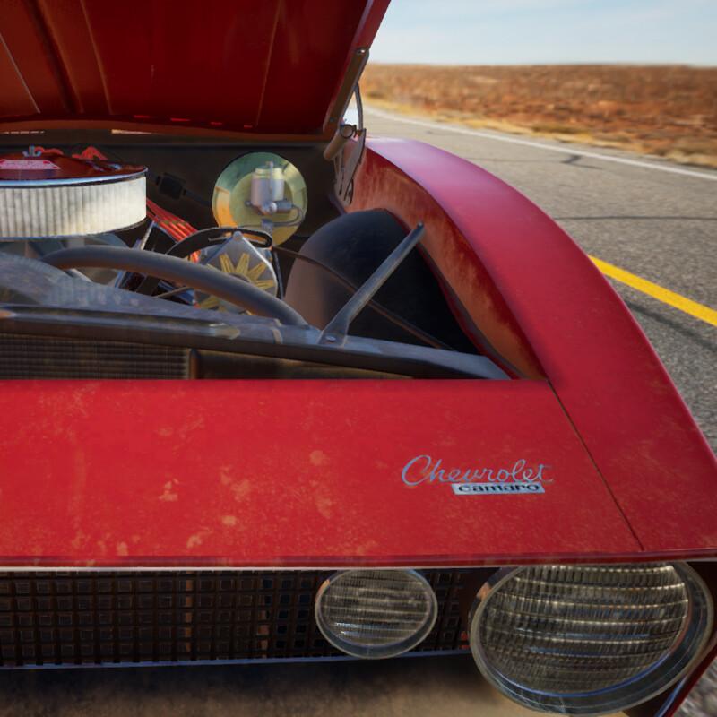 Broken Down Camaro